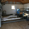 To maintain a facility as large as we have, there are several pump stations throughout both farms.